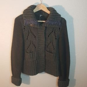 Free People Sweater Size S. *Small hole in arm*